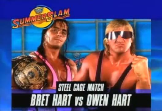 Owen Hart And Bret Hart 3) 1994 summerslam: bret hart