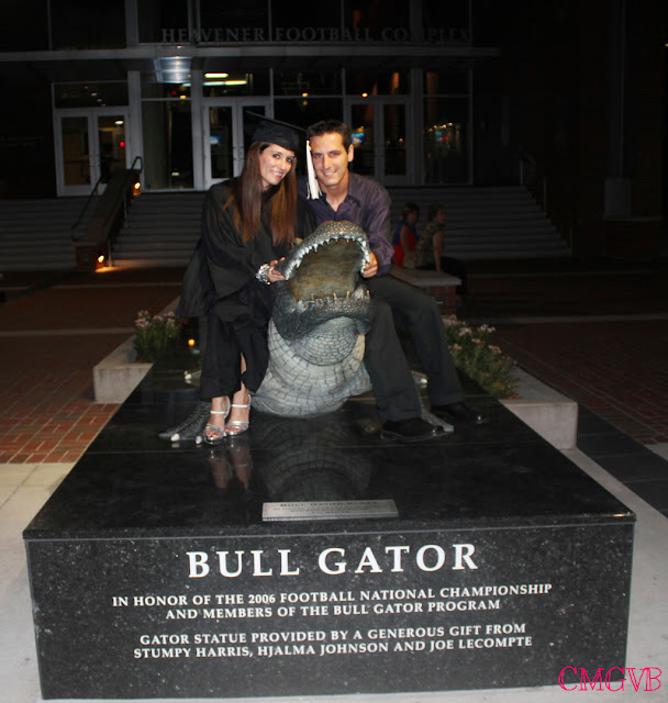 fashion blogger, Diana Dazzling, cmgvb, graduation, UF, the Swamp, Gator Country, UF, University of Florida, Commencement, Gainesville, Bull Gator