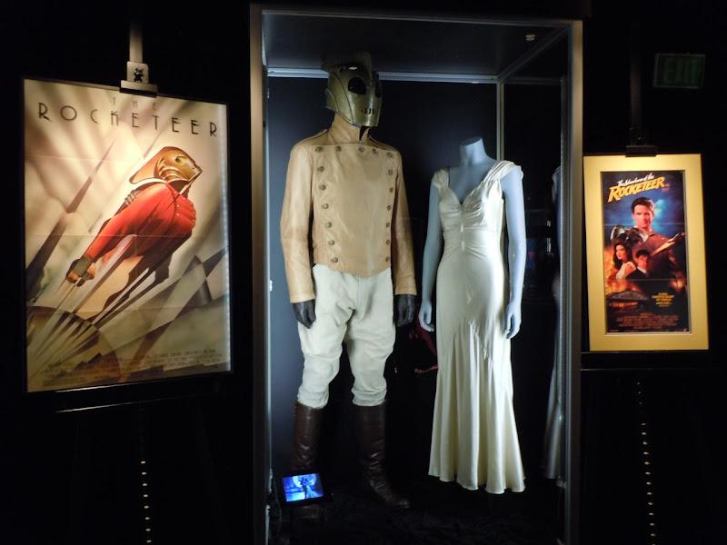 Rocketeer movie costume display
