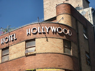 Hotel hollywood facade