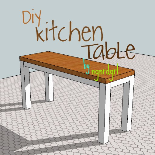 Making my stead diy kitchen table part 1 - Kitchen tables for small kitchens ...