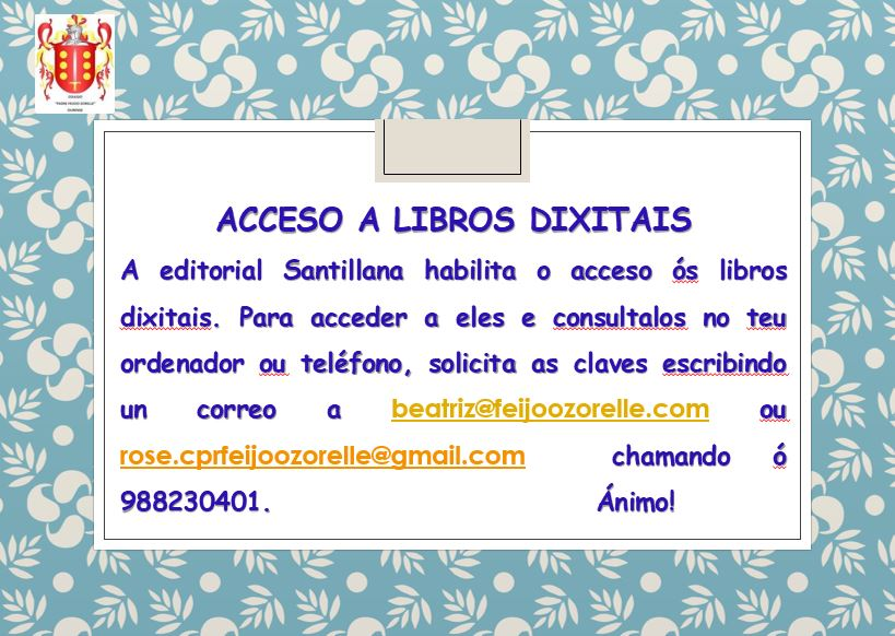 ACCESO LIBROS DE TEXTO