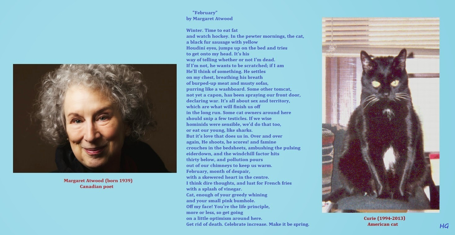 essay on february by margaret atwood This essay commentary margaret atwood and other 64,000+ term papers, college essay examples and free essays are available now on reviewessayscom autor: review • february 3, 2011 • essay • 296 words (2 pages) • 725 views.