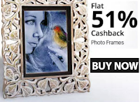 Buy Photo Frame at flat 51% Cashback : BuyToEarn