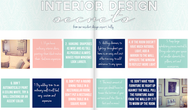 LPF Mag Issue #3 // Interior Design Secrets
