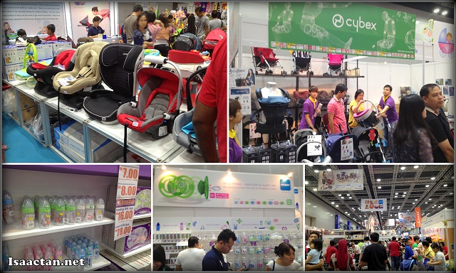 The crowd at International Baby Expo today