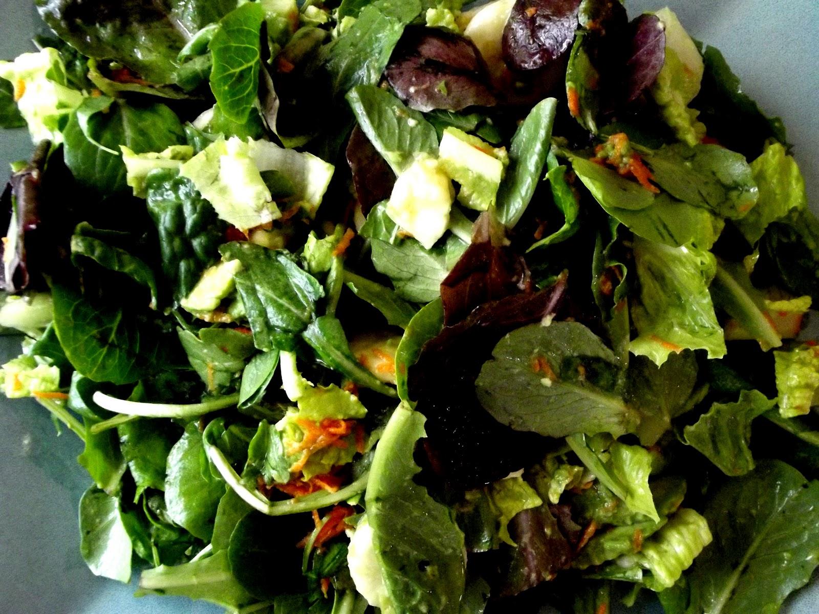 Raw Food Passion: Simple Salad Dressing: Apple Cider Vinegarette