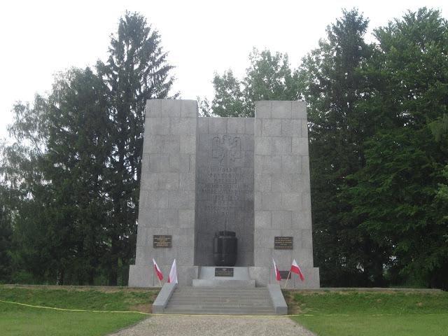 Polish Monument, Mauthausen Concentration Camp, Vienna / SouvenirChronicles.blogspot.com