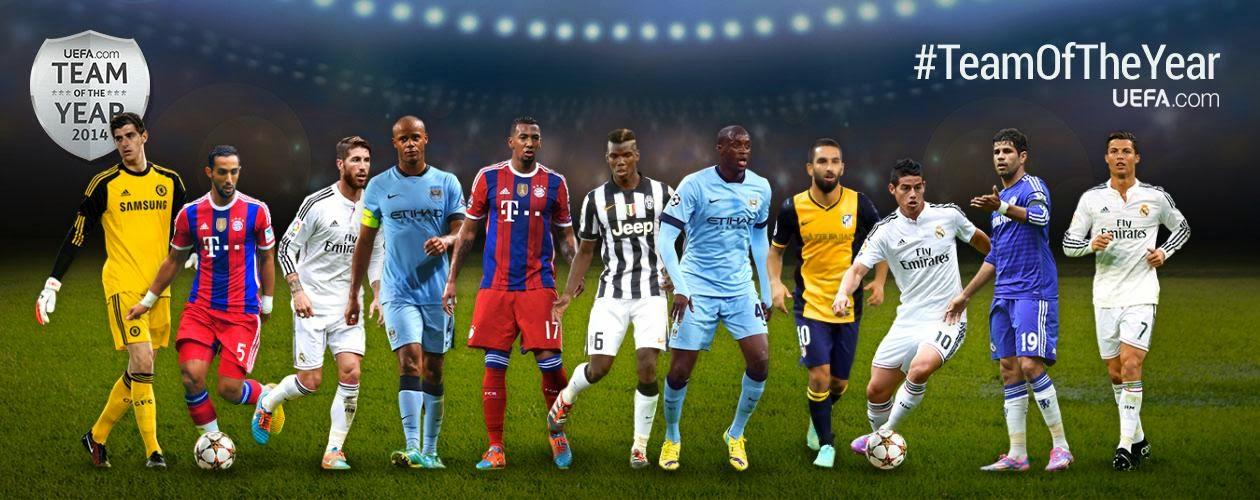 uefa yılın 11