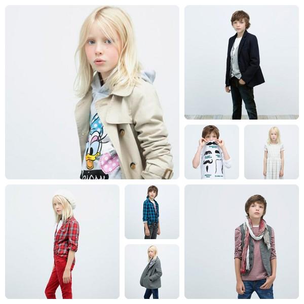 moda infantil zara otono invierno