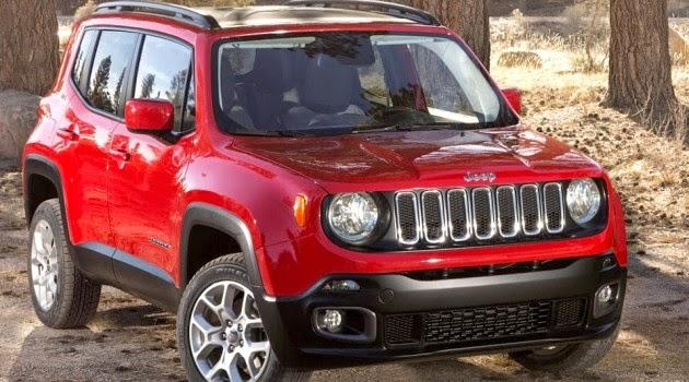 Novo Fiat Renegade 2015 jeep suv