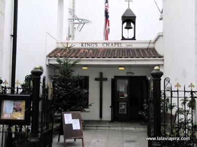 Capilla Rey Kings Chapel Gibraltar