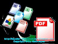 Membuat Dokumen Dengan Format PDF
