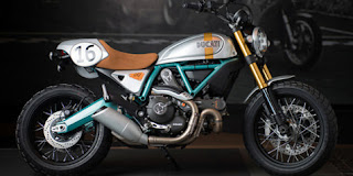 Exclusive Ducati Scrambler Paul Smart Edition