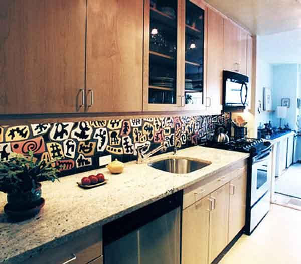 Contemporary Kitchen Backsplash Designs: Modern Backsplash Ideas For Kitchen @ The Kitchen Design