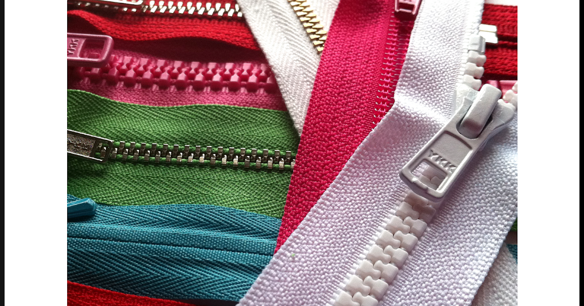 Zip It Zippers Quick Guide To Zipper Teeth And Coil Sizes