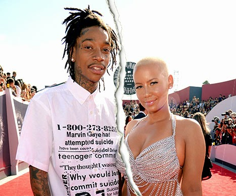 Amber Rose and Wiz Khalifa Divorcing