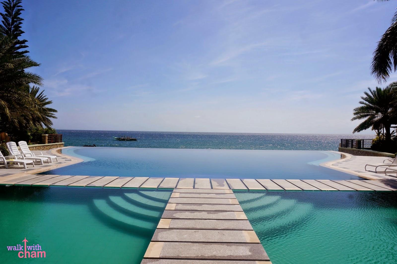 Walk with cham acuatico beach resort liaya batangas philippines for Batangas beach and swimming pool resort