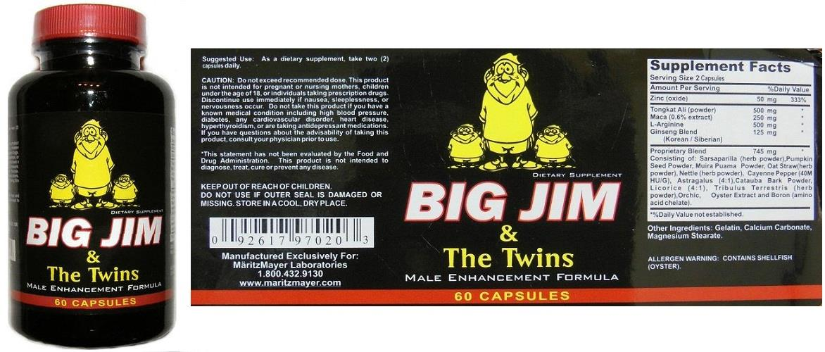 lucky store big jim the twins man super power pills