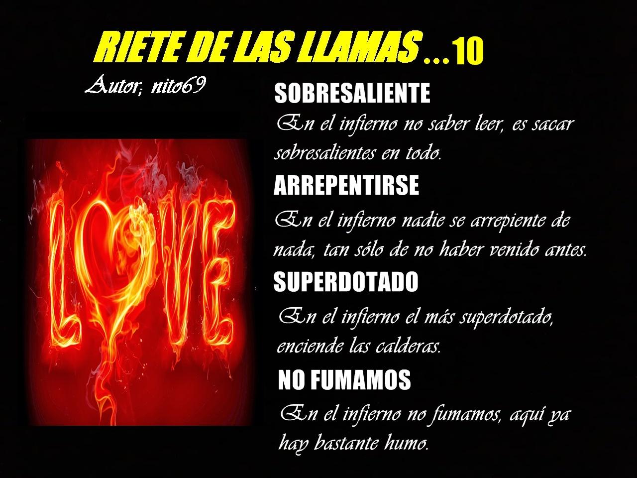 RIETE DE LAS LLAMAS...10