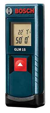 Bosch GLM 15 Compact Laser Measure