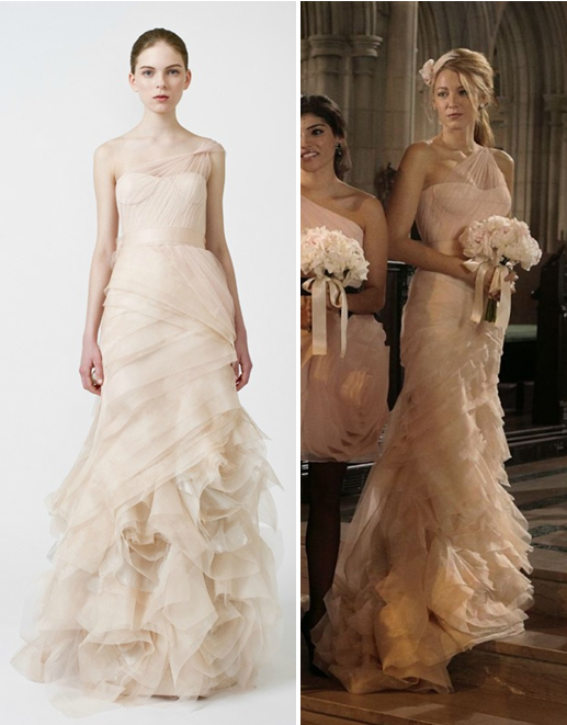 Vestido de novia serena van der woodsen