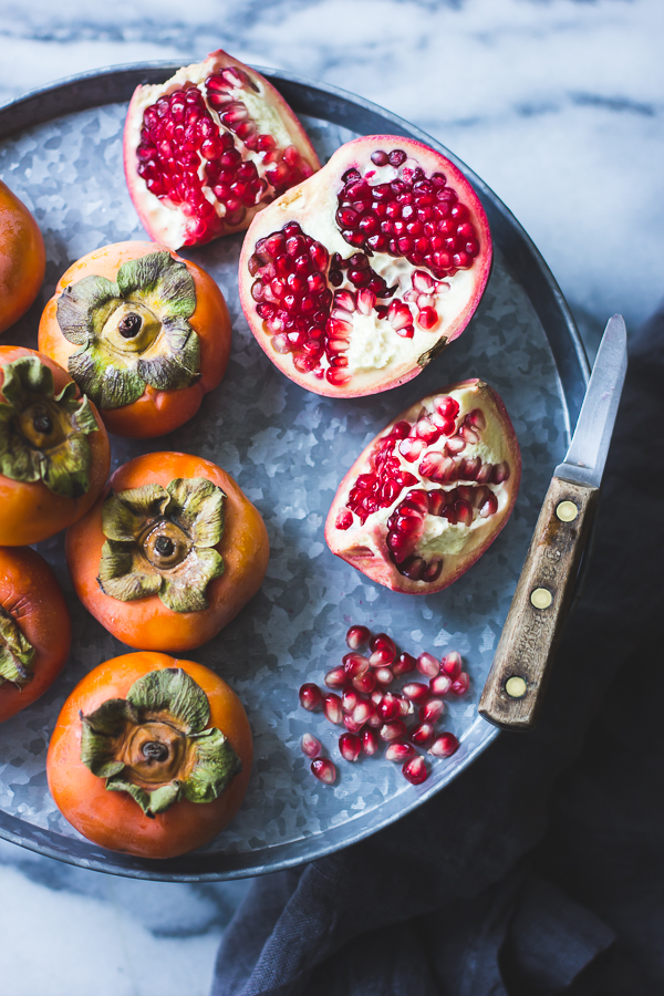 The Bojon Gourmet: Persimmon + Pomegranate Salad with Burrata ...