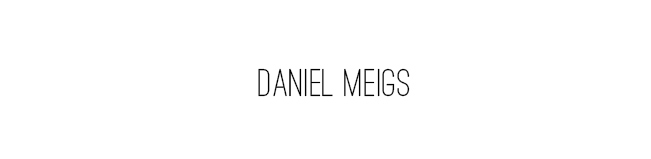 DANIEL MEIGS PHOTOGRAPHY BLOG