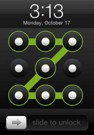 Add Pattern Lock In Iphone Swooosh Tech