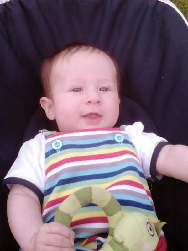 3 miesięczny chłopiec, grzechotka ikea