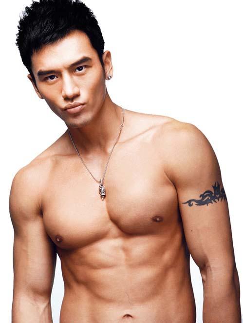 china male model