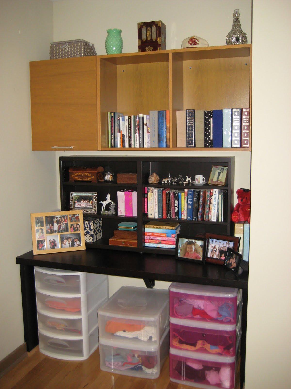 My Bedroom Shelfy Area, Post Zenning :