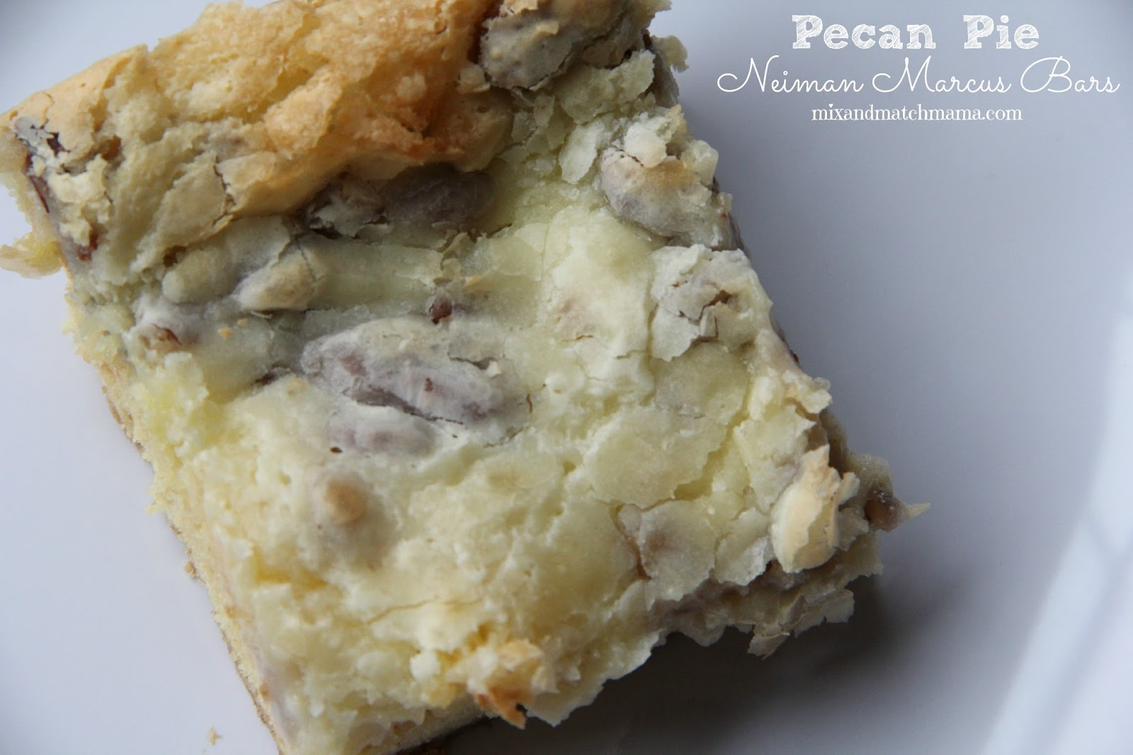 Neiman Marcus Bars With Butter Pecan Cake Mix