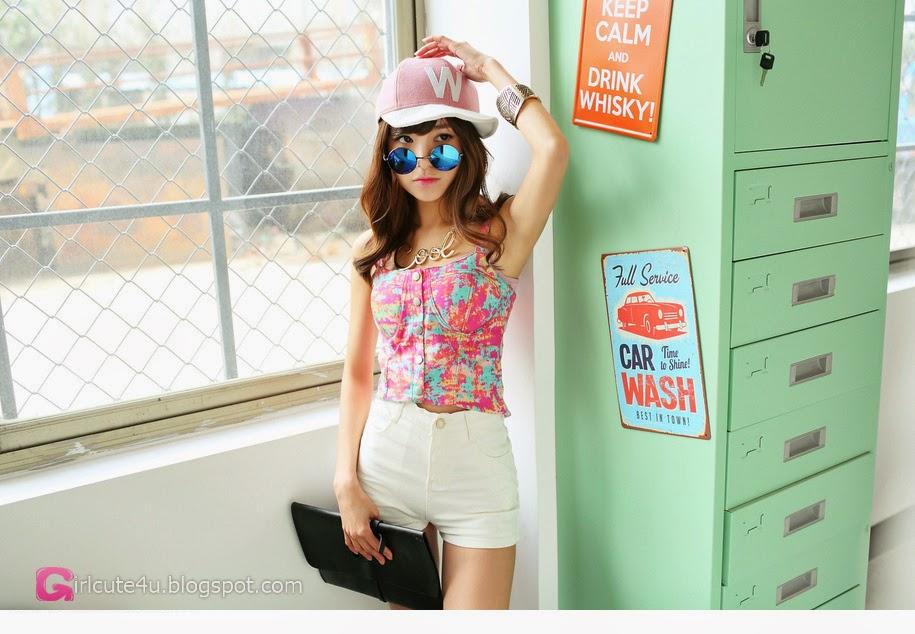 1 Korean Fan - very cute asian girl-girlcute4u.blogspot.com