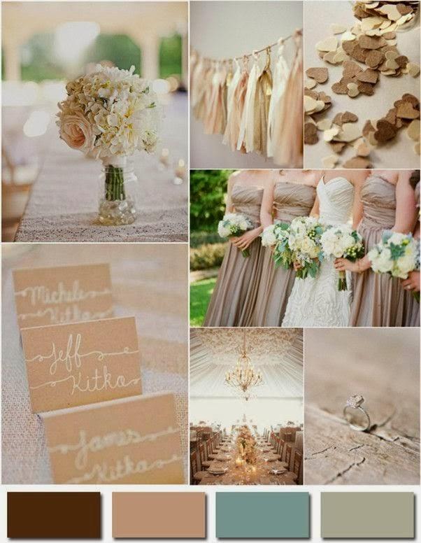 Сватбени цветове