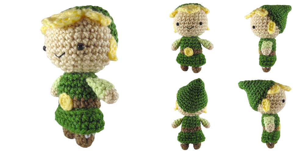 Amigurumi Link Pattern : i crochet things: Free Pattern: Mini Link Amigurumi