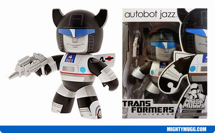 Autobot Jazz Transformers Mighty Muggs Wave 1