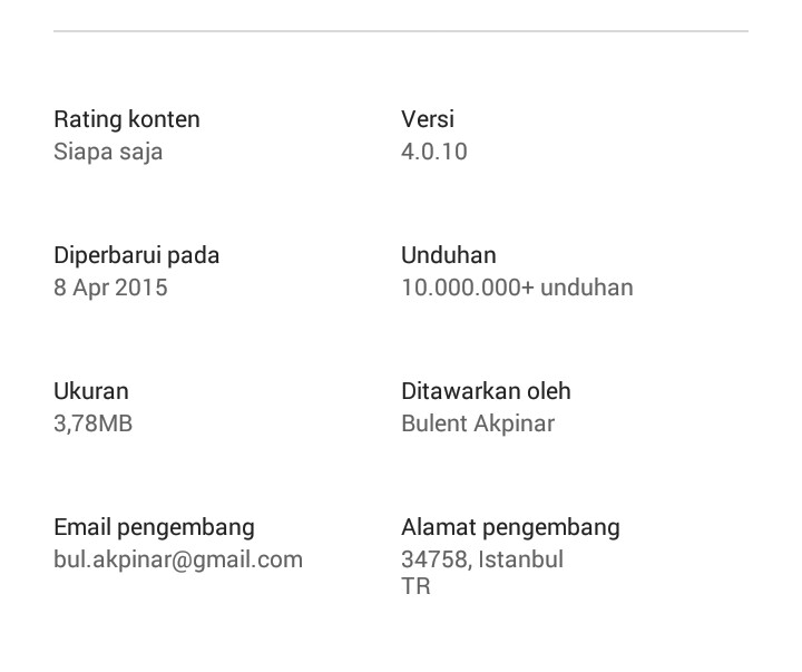 pembaruan link2sd official, mengatasi invalid package