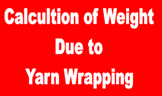 Yarn Wrapping Calculation
