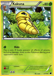 Kakuna Plasma Freeze Pokemon Card