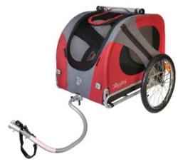 rimorchio bici porta cane