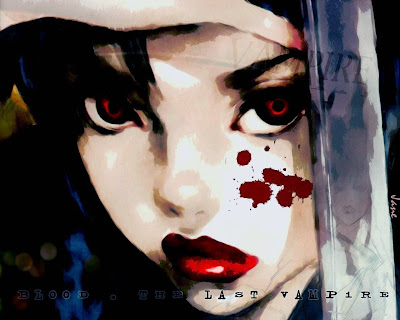 Blood The Lsst Vampire Wallpaper