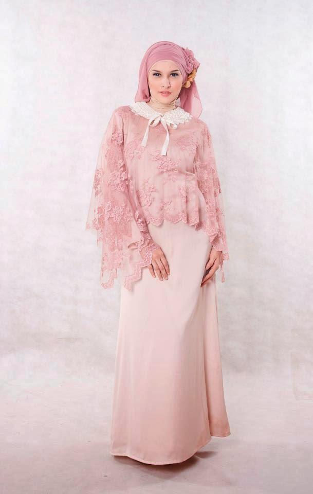 Gambar Baju Muslim Pesta Terbaru Saat Ini