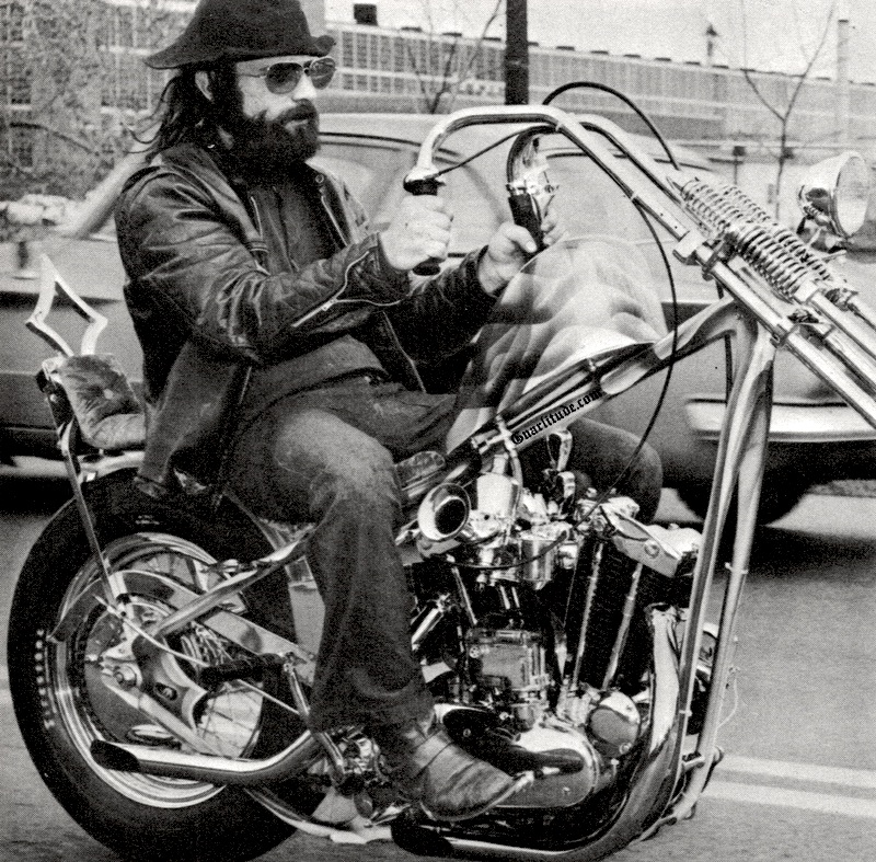 Joe king speedshop 70s chopper