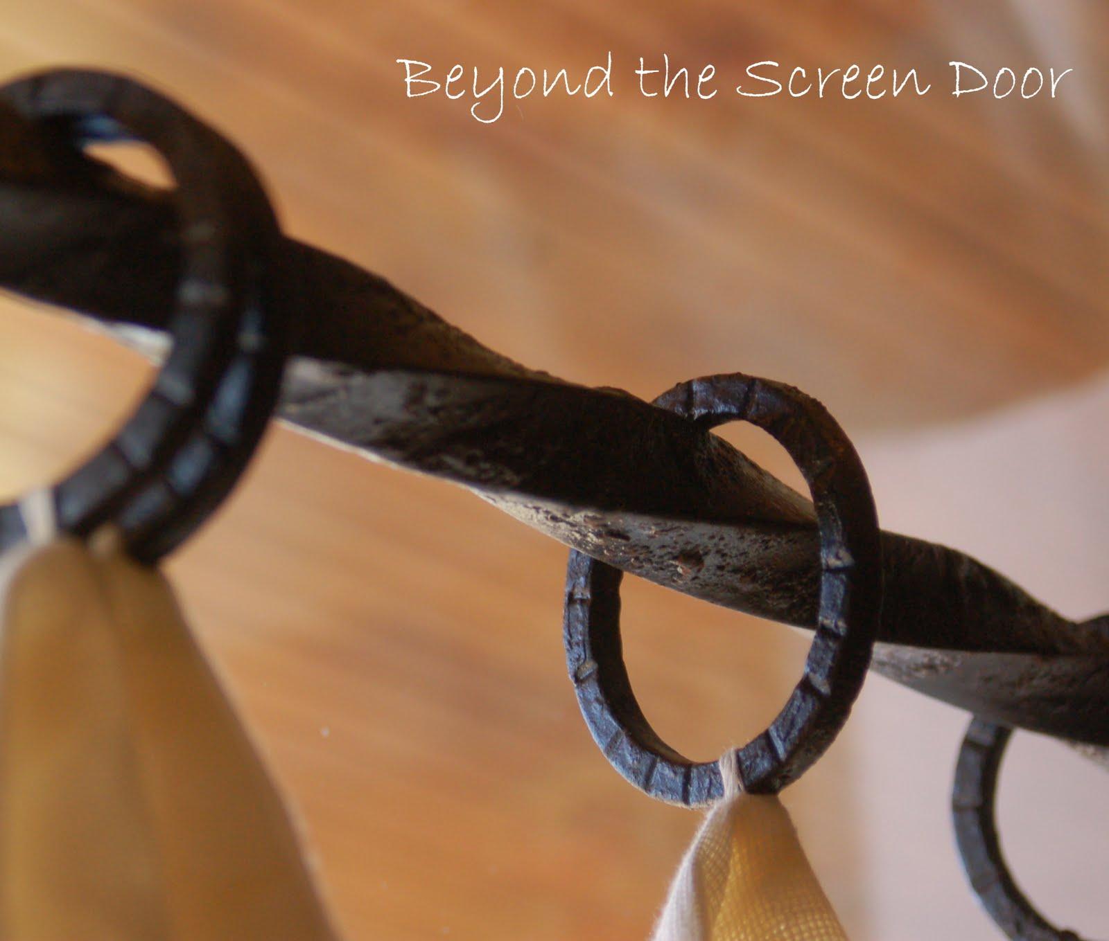 Beyond the Screen Door: Customizing Pottery Barn Window Treatments