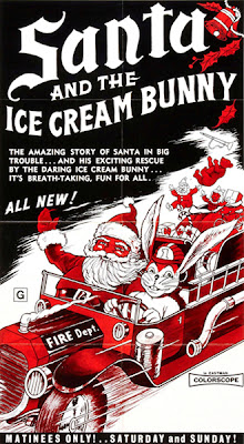 Poster for Santa and the Ice Cream Bunny
