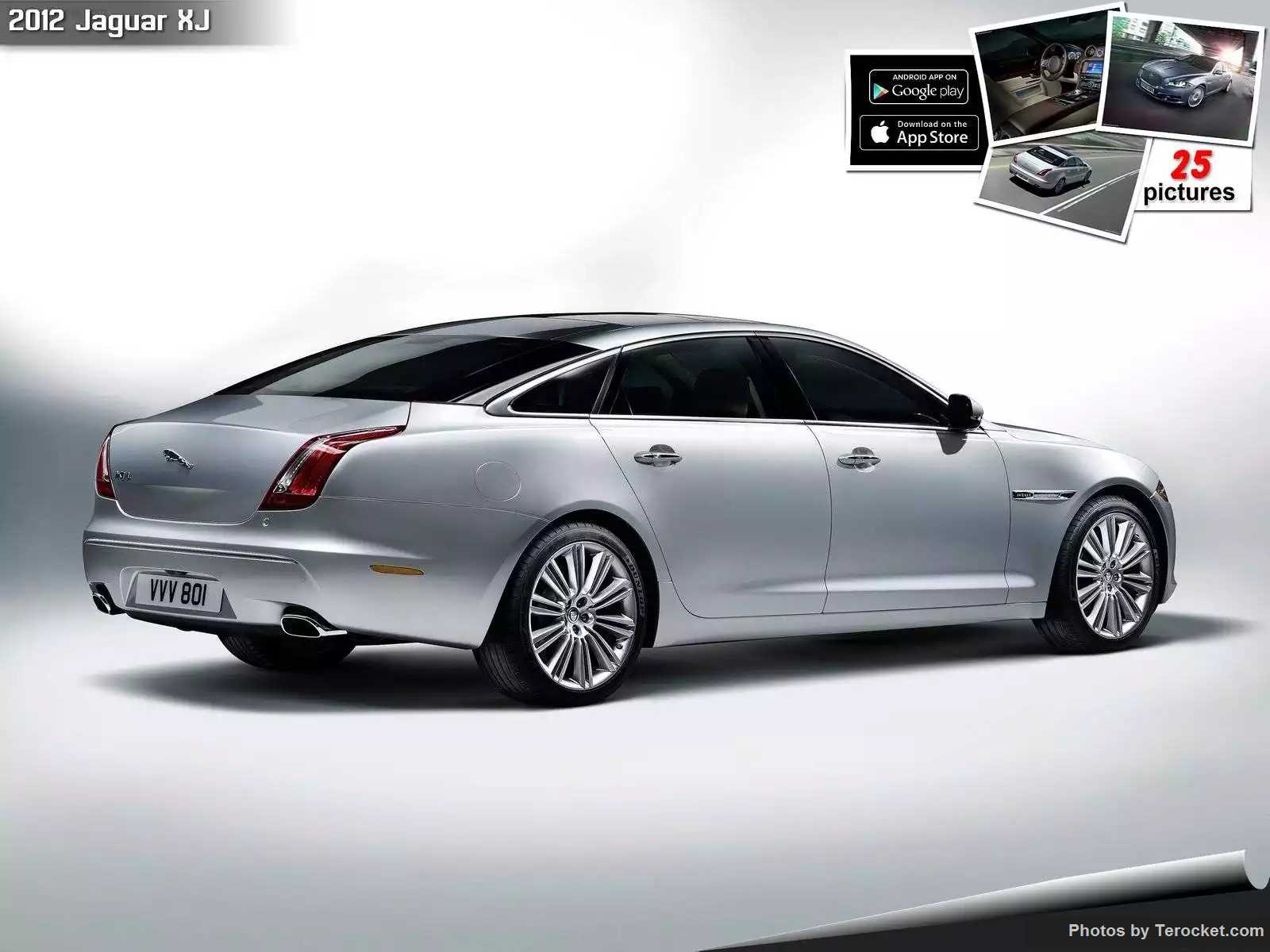 Hình ảnh xe ô tô Jaguar XJ 2012 & nội ngoại thất