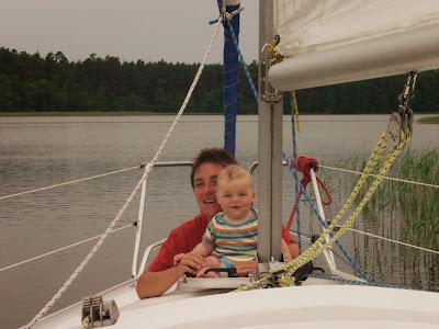 Mazury, żeglowanie, jacht, łódka, Pod Dębem, jezioro