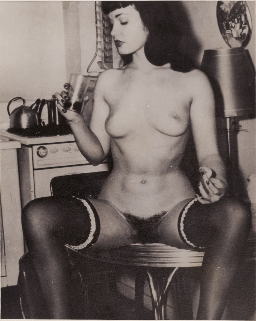Bettie page nude outdoors picture 221