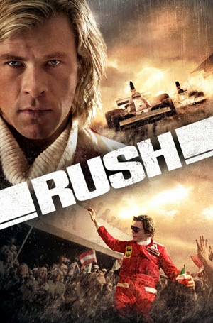 Rush: Official Theatrical Release Poster